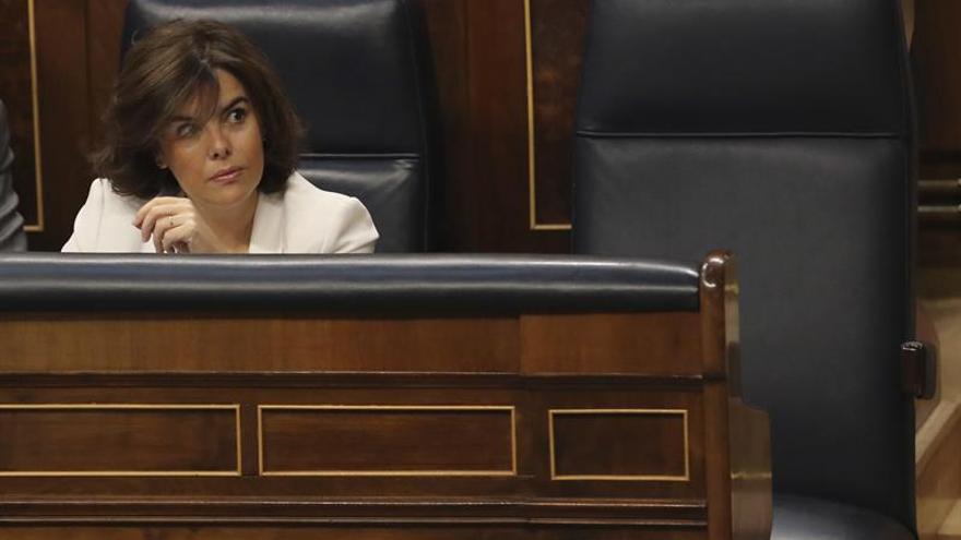 Sáenz de Santamaría comparece el miércoles en la Comisión de Secretos Oficiales