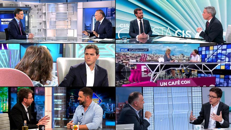Las entrevistas a los candidatos de las elecciones en TV