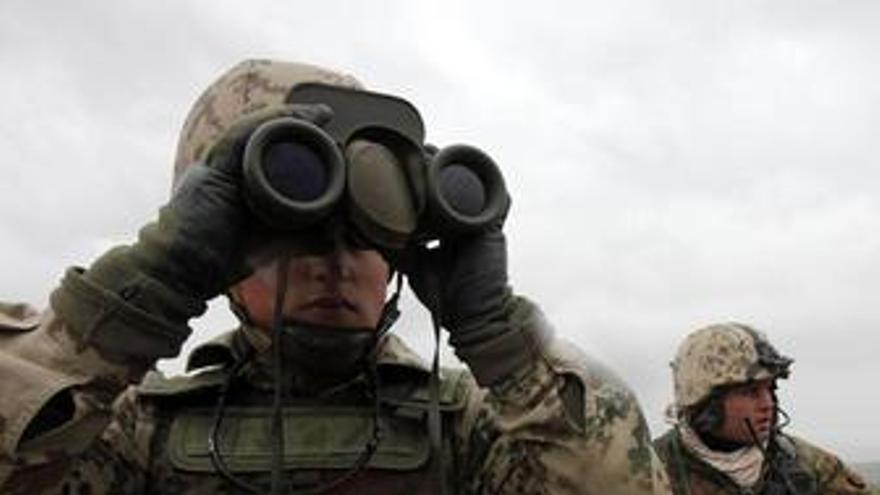 Soldados alemanes en Afganistán