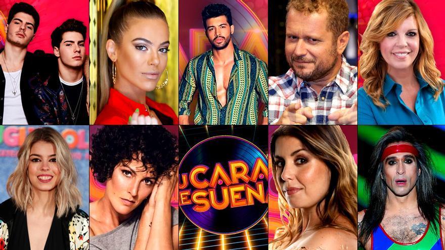 Casting Cerrado Estos Son Los 10 Concursantes De Tu Cara Me Suena 8 En Antena 3