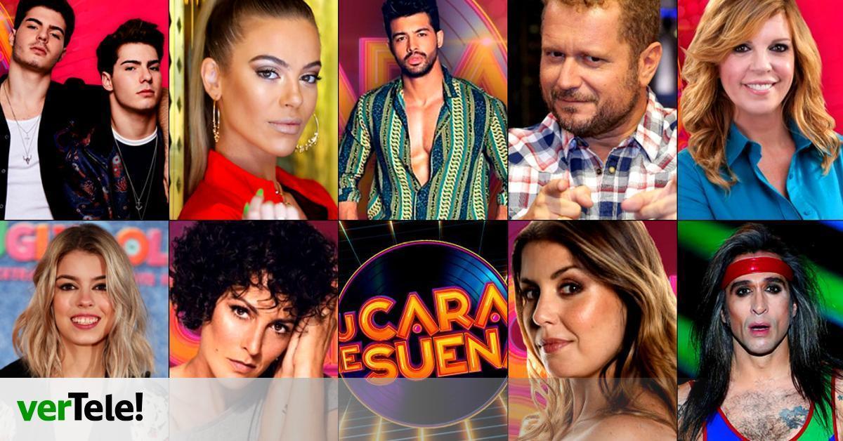 Casting Cerrado Estos Son Los 10 Concursantes De Tu Cara Me Suena 8 En Antena 3 Vertele