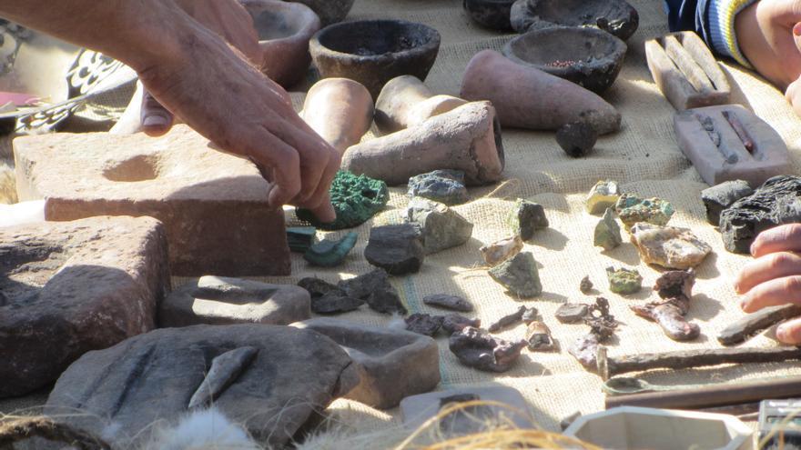 'I Jornadas Arqueológicas' de Villafranca de los Caballeros / Foto: Diego Jimeno Manrique