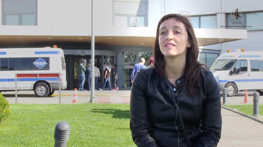Sonia López, hija del fallecido