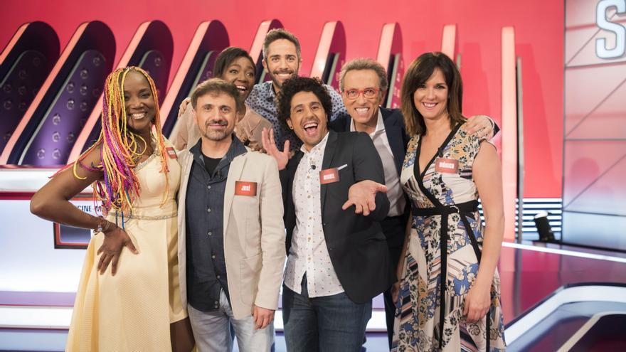 Saber y Ganar en su programa 5.000 con rostros de TVE