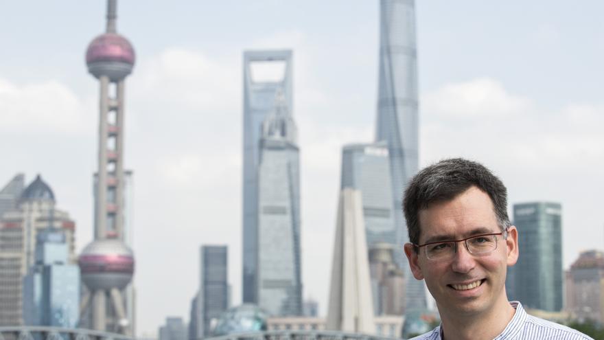 El periodista Zigor Aldama, corresponsal en Extremo Oriente con base en Shanghái, China.