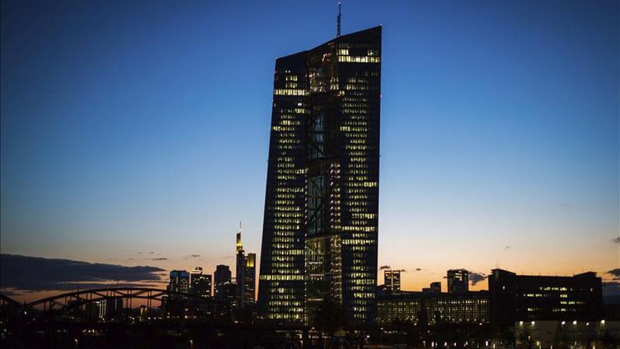 La banca española amplía en abril un 9,6 % sus peticiones de fondos al BCE