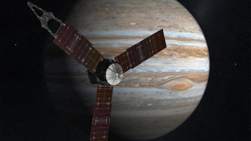 La sonda Juno llega a la órbita de Júpiter para descifrar sus enigmas