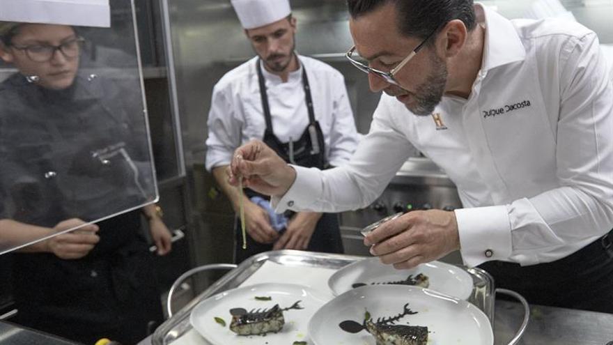 """Dacosta aúna tradición, pasión y sabor en la """"última cena"""" más mediterránea"""