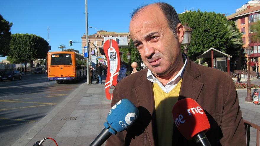 El PSOE echa a su candidato a la alcaldía de Murcia tras oponerse a la composición de la lista