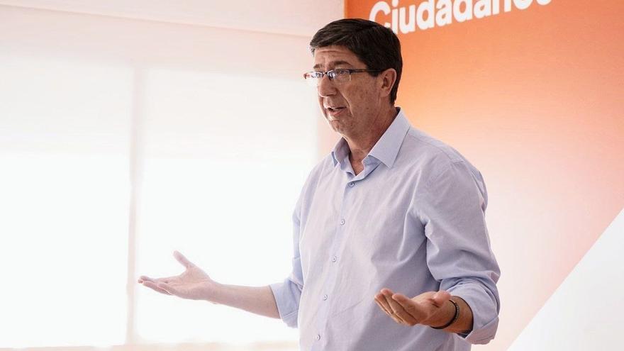 El vicepresidente andaluz y líder regional de Cs precipita su candidatura a las próximas elecciones tras el envite de Arrimadas