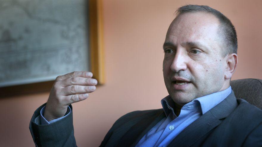 El vicepresidente segundo de la Generalitat, Rubén Martínez Dalmau