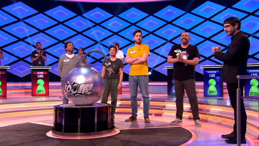 'Los Dispersos', en su último programa en '¡Boom!'