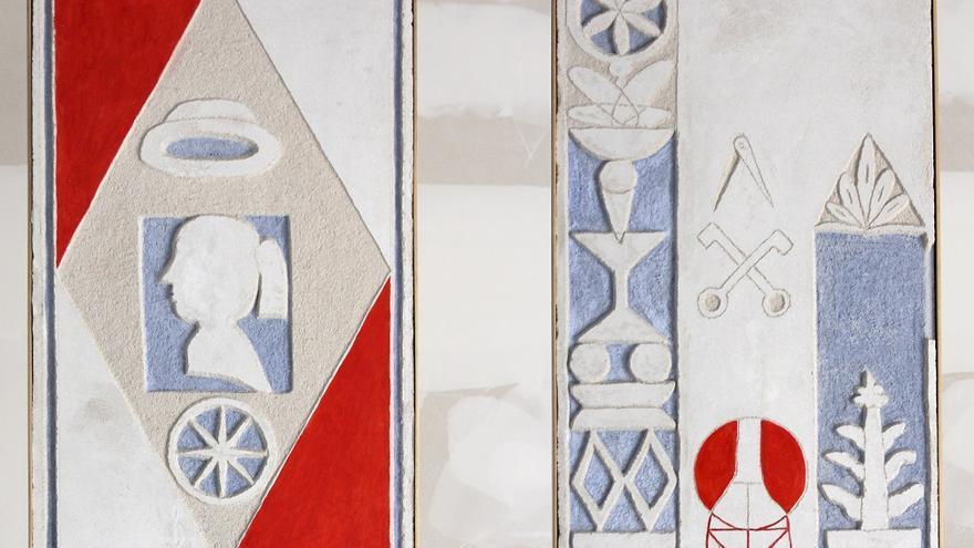 Diego Delas. 20000 toneladas de mármol (Detalle). Instalación