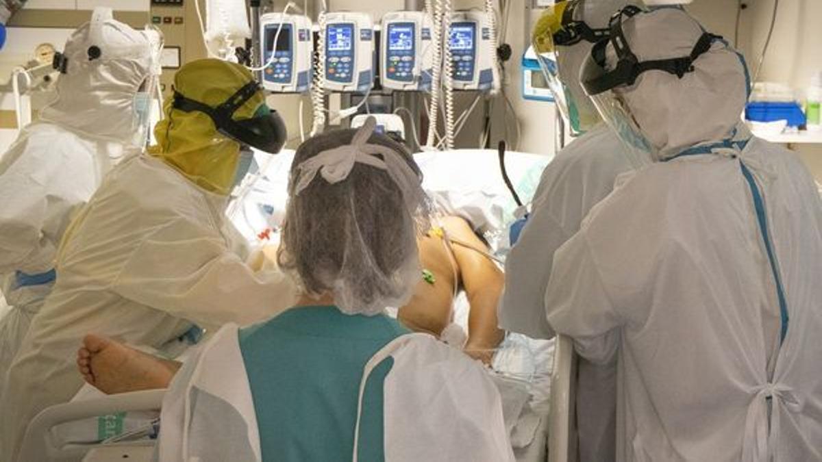UCI durante la pandemia de coronavirus.