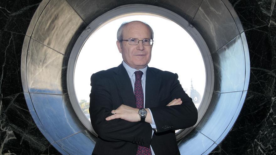 El expresident de la Generalitat José Montilla, en el Senado. Foto: Marta Jara.