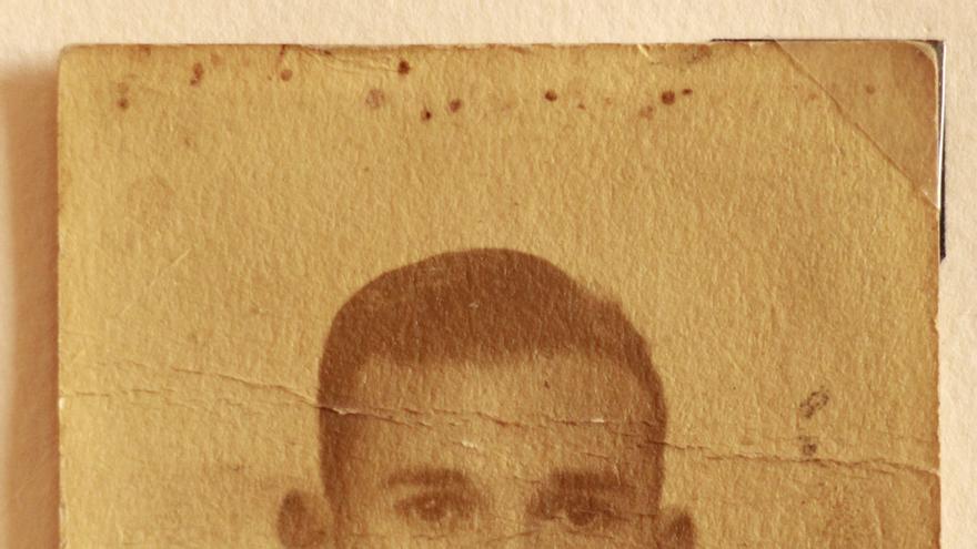 Domingo Pablo Martín Gómez, natural de Santander y soldado del ejército republicano.