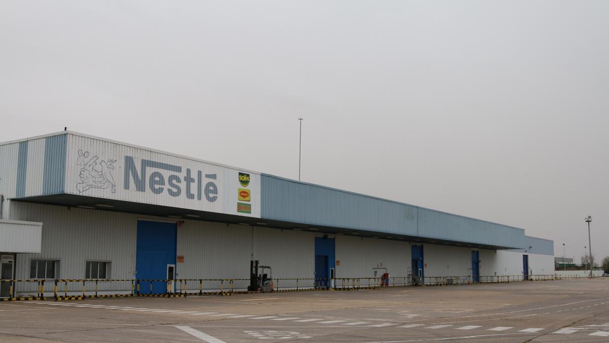 Planta de Nestlé.