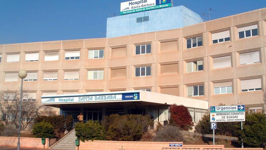 hospital Santa Bárbara en Puertollano. Foto: castillalamancha.es