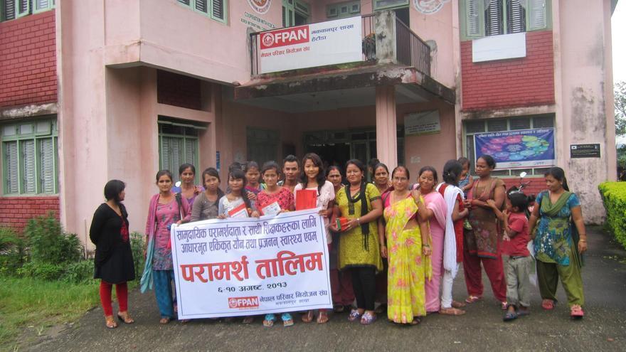 La Ley Mordaza de Trump pondrá en peligro el mantenimiento de clínicas de FPAN en Nepal / Imagen: FPAN