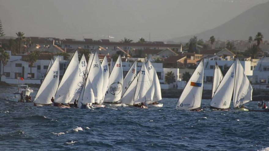 La competición de vela latina se celebró en Corralejo.