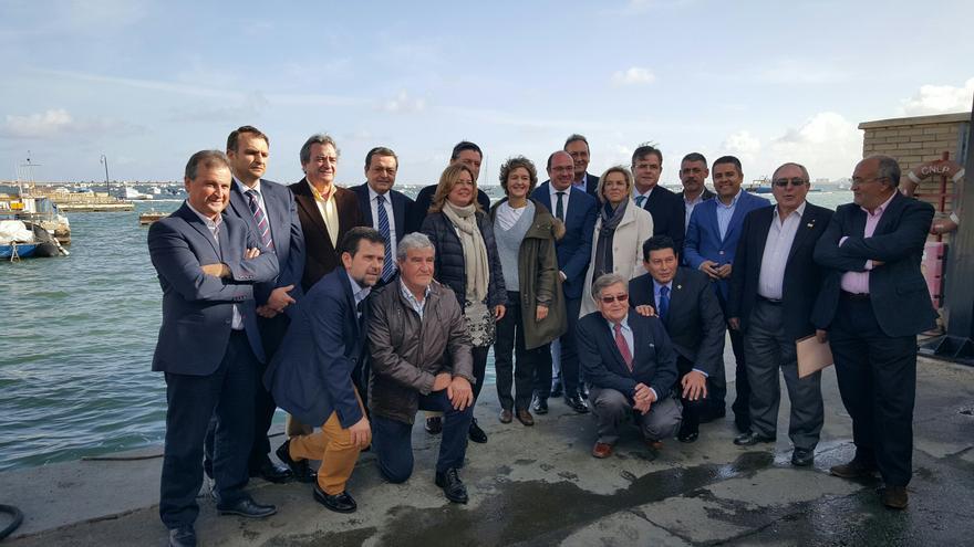 La ministra García Tejerina ha visitado la Región de Murcia