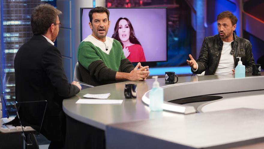 Arturo Valls, José Mota y Malú en 'El Hormiguero'