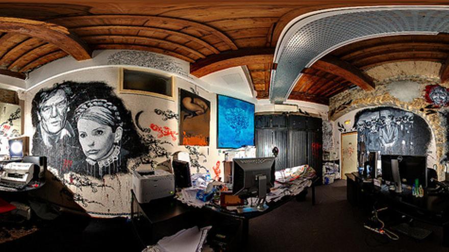 La Morada del Caos es la sede de Artprice, una compañía dedicada al mercado del arte