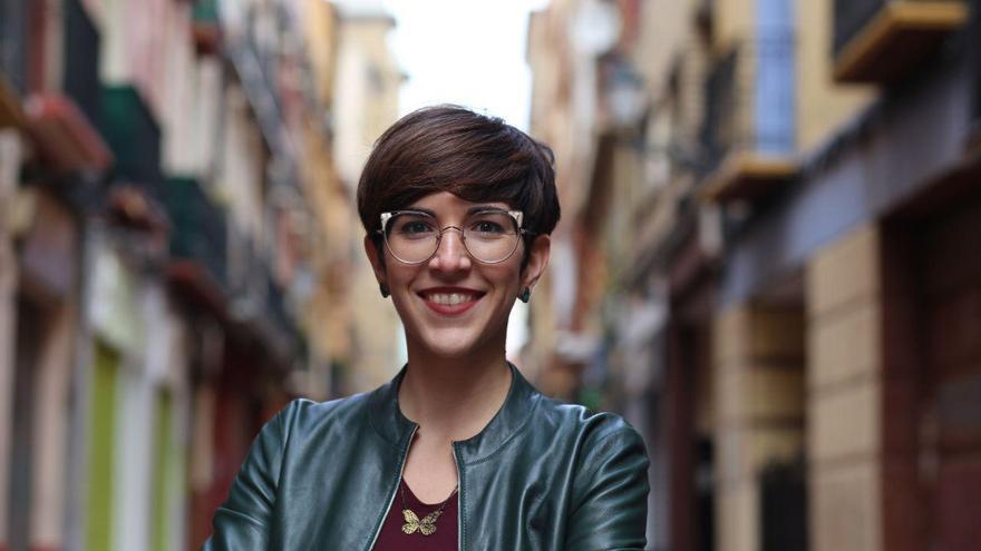 Violeta Barba ha ganado las primarias de Podemos Zaragoza
