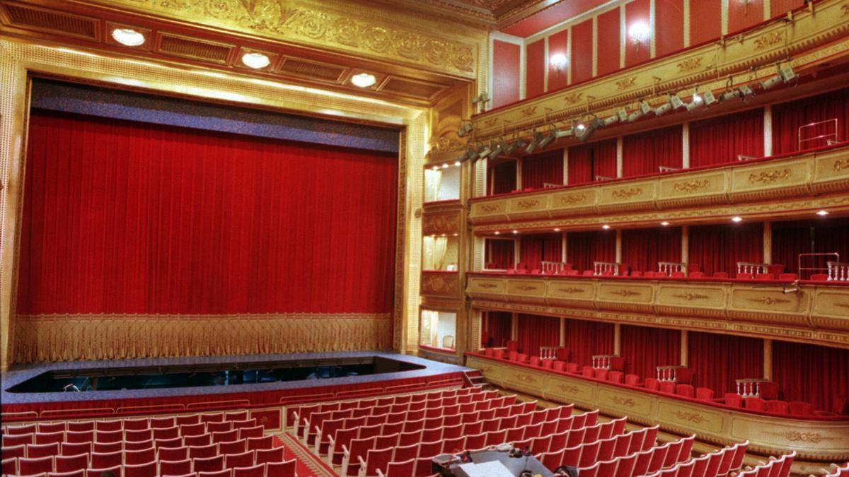 Patio de butacas del Teatro de la Zarzuela