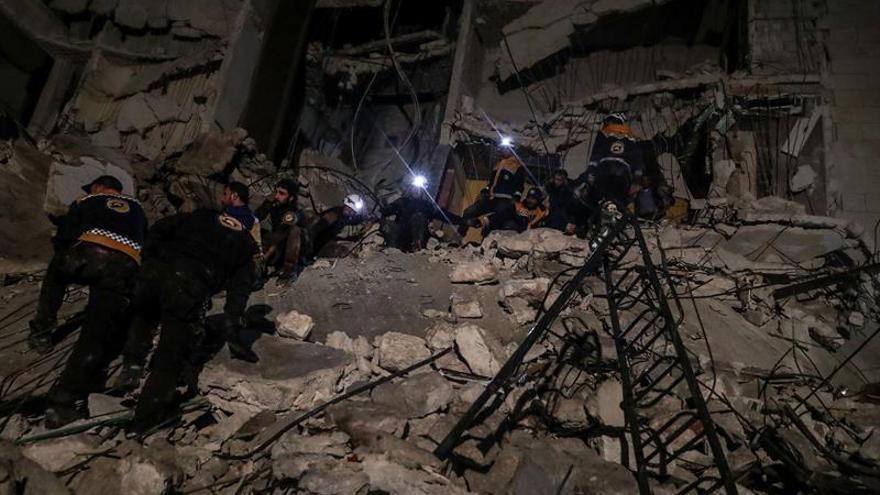Al menos 38 los civiles muertos en bombardeos en el noreste de Siria
