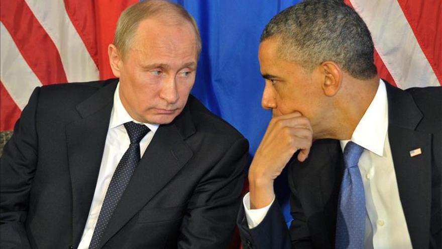 Putin le dice a Obama que como Premio Nobel de la paz piense en las víctimas