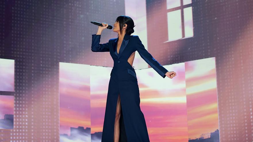 Aitana conquista los Goya 2021 con la actuación estrella de la noche