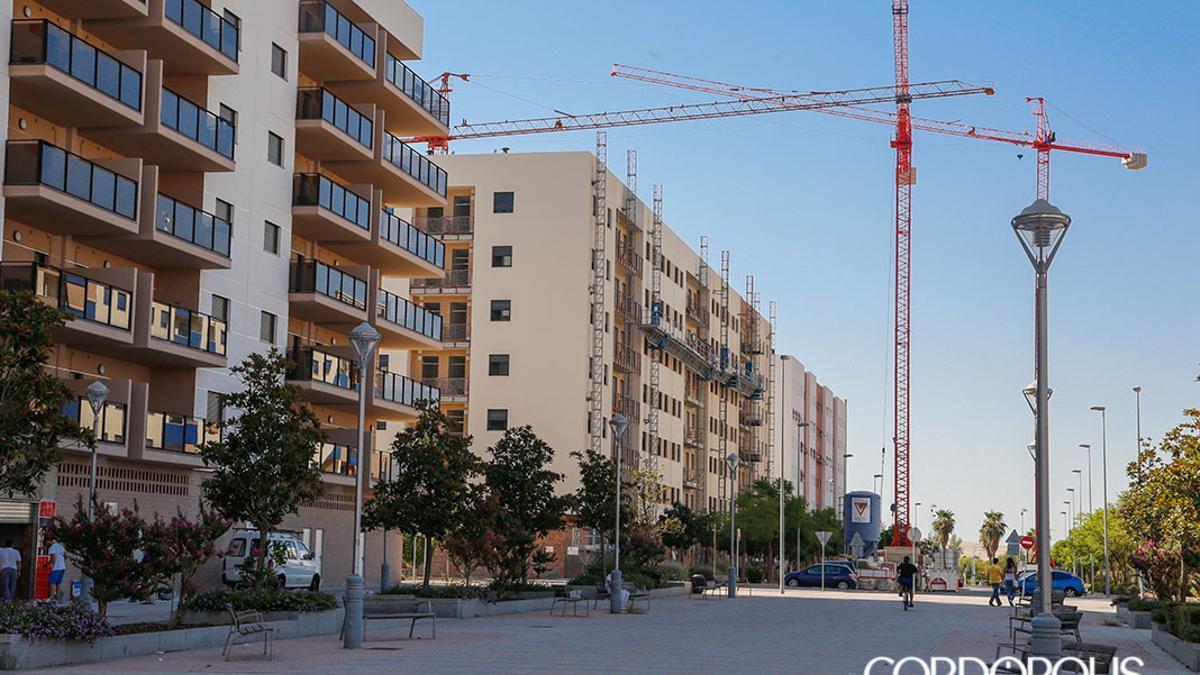 Bloques de viviendas nuevas en Córdoba.