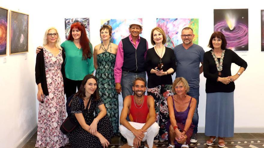 Grupo de artistas Aunarte.