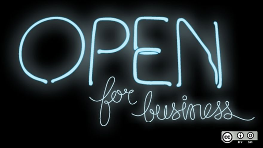 Building an open source business by Opensourceway (CC BY-SA 2.0).
