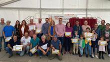 Foto de familia de los participantes en el concurso.