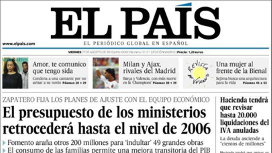 De las portadas del día (27/10/2010) #7