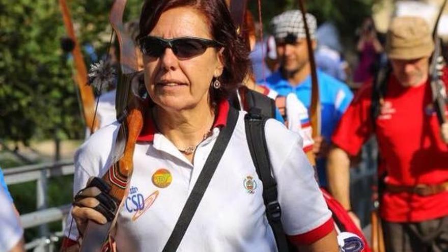 Begoña Pérez, campeona del mundo./Foto cedida por la entrevistada.