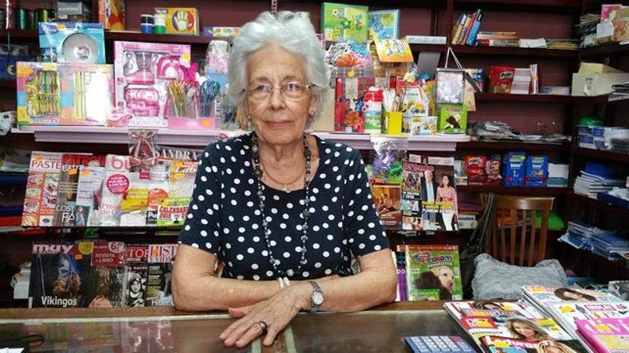 Doña Delia en una imagen de archivo de agosto de 2015. Foto: LUZ RODRÍGUEZ.