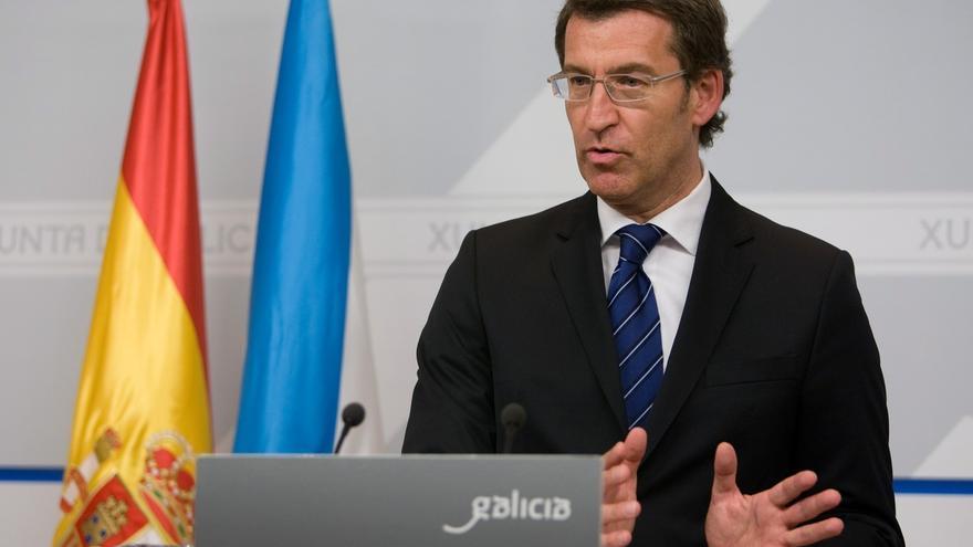 """Feijóo pide contundencia a los partidos en defensa de """"la Galicia donde la gente se expresa con palabras, no con bombas"""""""