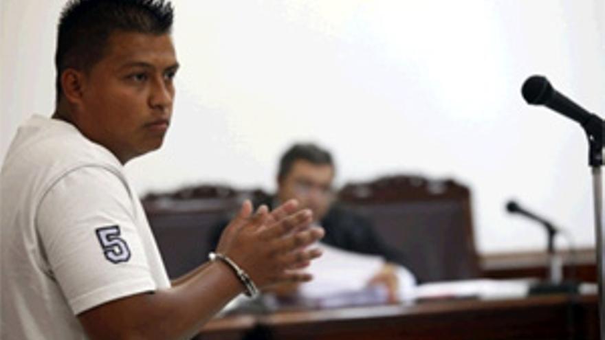 El acusado durante el juicio. (ACFI PRESS)