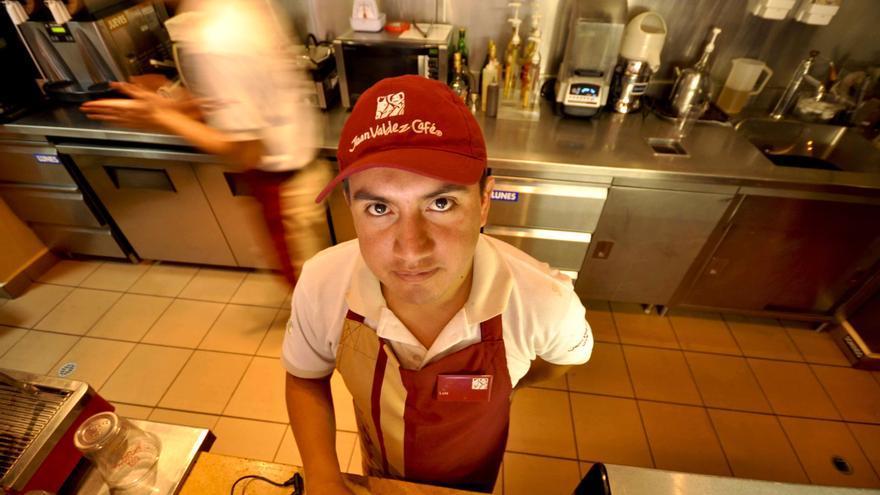 Trabajador ecuatoriano / Fotografía: Diego Represa