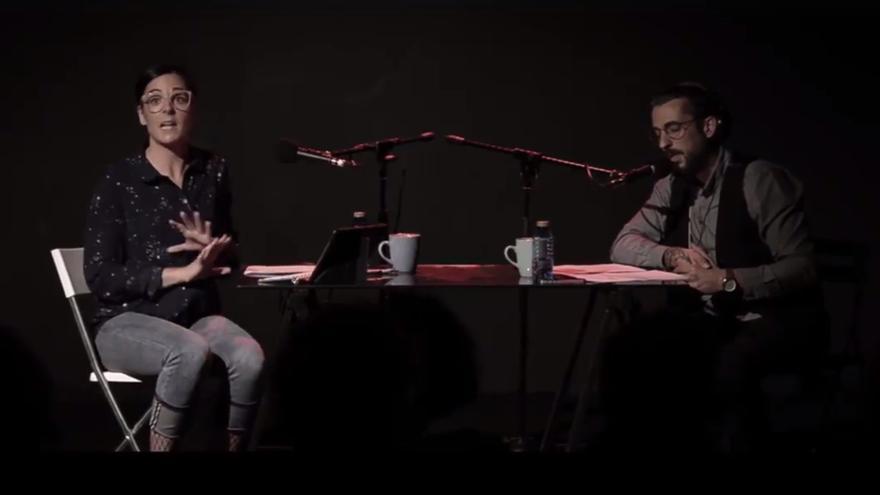 'El Navegante', de Erik Leal, interpretada por Leire Orbe y Aitor Borobia.