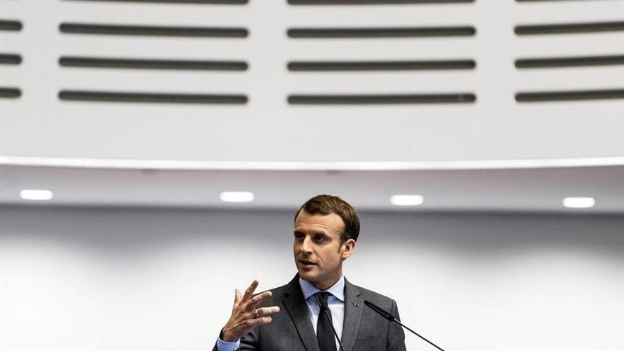 Macron dice que Francia se solidariza con EEUU por el atentado en Nueva York