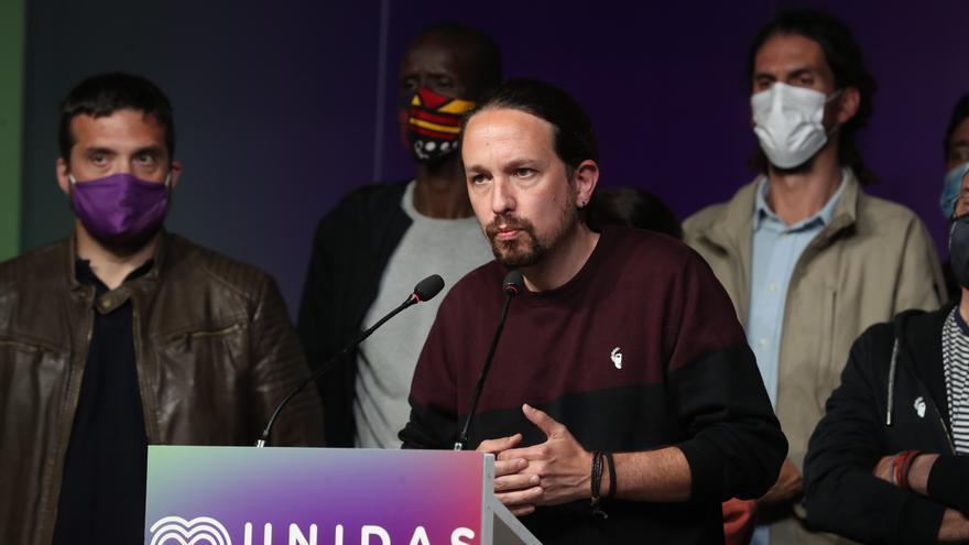 Iglesias dimite de todos sus cargos tras fracaso de la izquierda en Madrid