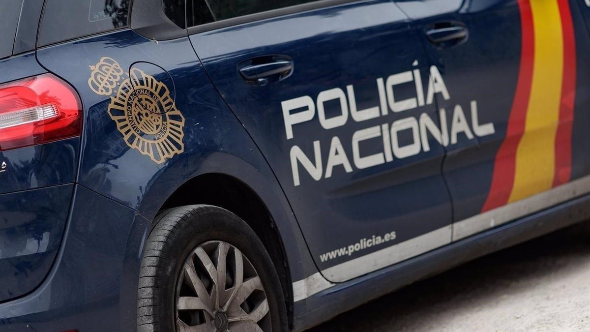 Coche Policía Nacional. Imagen de archivo.
