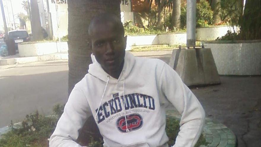 Ibrahim Keita, costamarfileño fallecido en la tragedia de Ceuta/ Imagen cedida