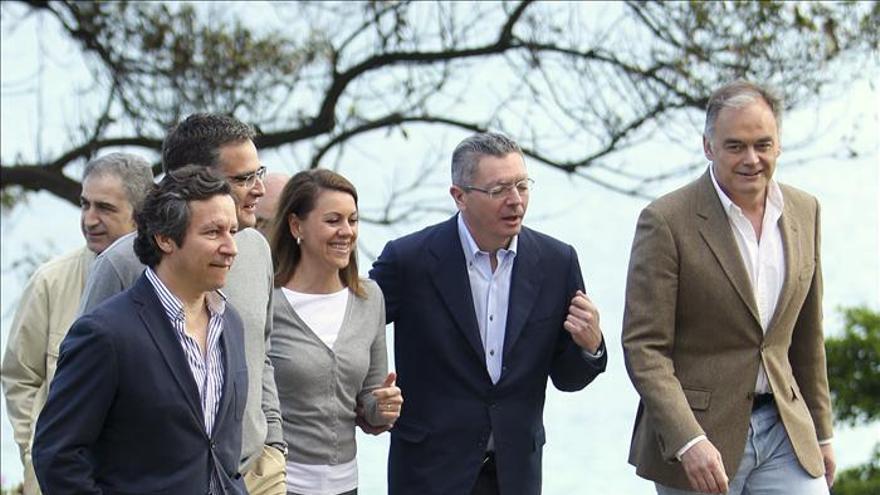 Gallardón defiende la labor de Rajoy lejos del inmovilismo y la resignación