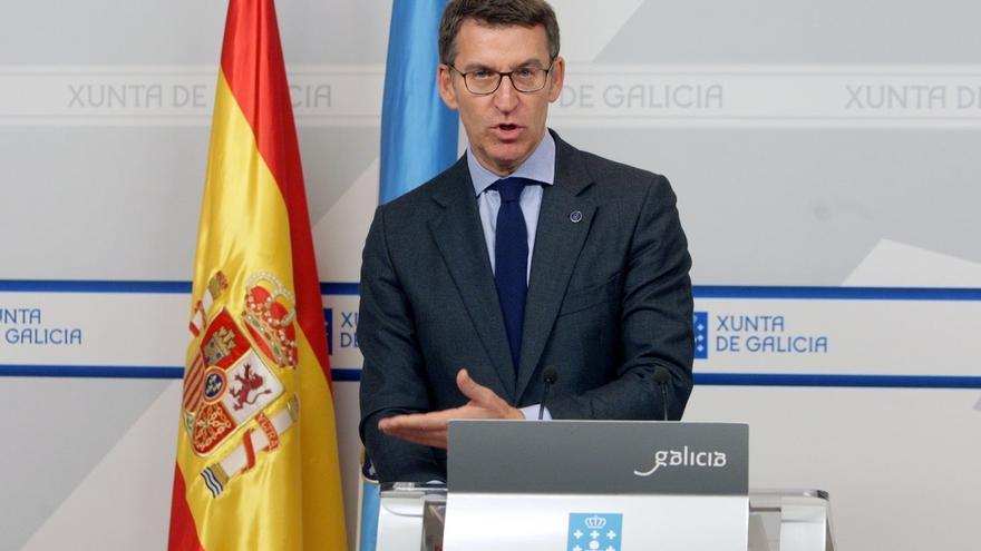 """Feijóo pide """"no perjudicar"""" en la financiación a comunidades como Galicia que """"no causaron problemas"""" de deuda"""