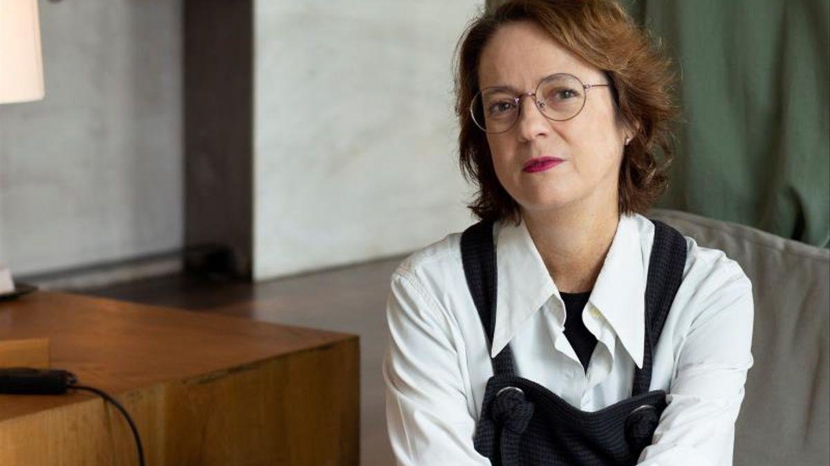 La autora Marta Sanz